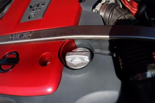 OEM GENUINE NISMO LOGO ENGINE OIL FILLER METAL CAP FOR NISSAN 300ZX 350Z 370Z