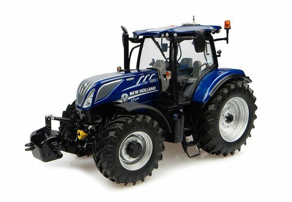 UNIVERSAL HOBBIES 1 32 SCALE blu POWER - NEW HOLLAND T7.225 TRACTOR   BN   4900