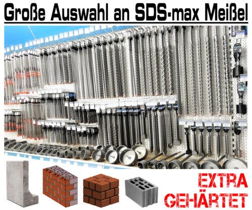 5 Pièces SDS-max burin large 600 mm long stemmmeißel pour marteau burineur piqueur