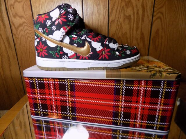 4280d4aa 2013 Nike Dunk High SB PRM CNCPTS Ugly Christmas Sweater 635525-036 Size  10.5 for sale online | eBay