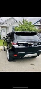 2014 Rang Rover HSE Black colour .. Excellent condition