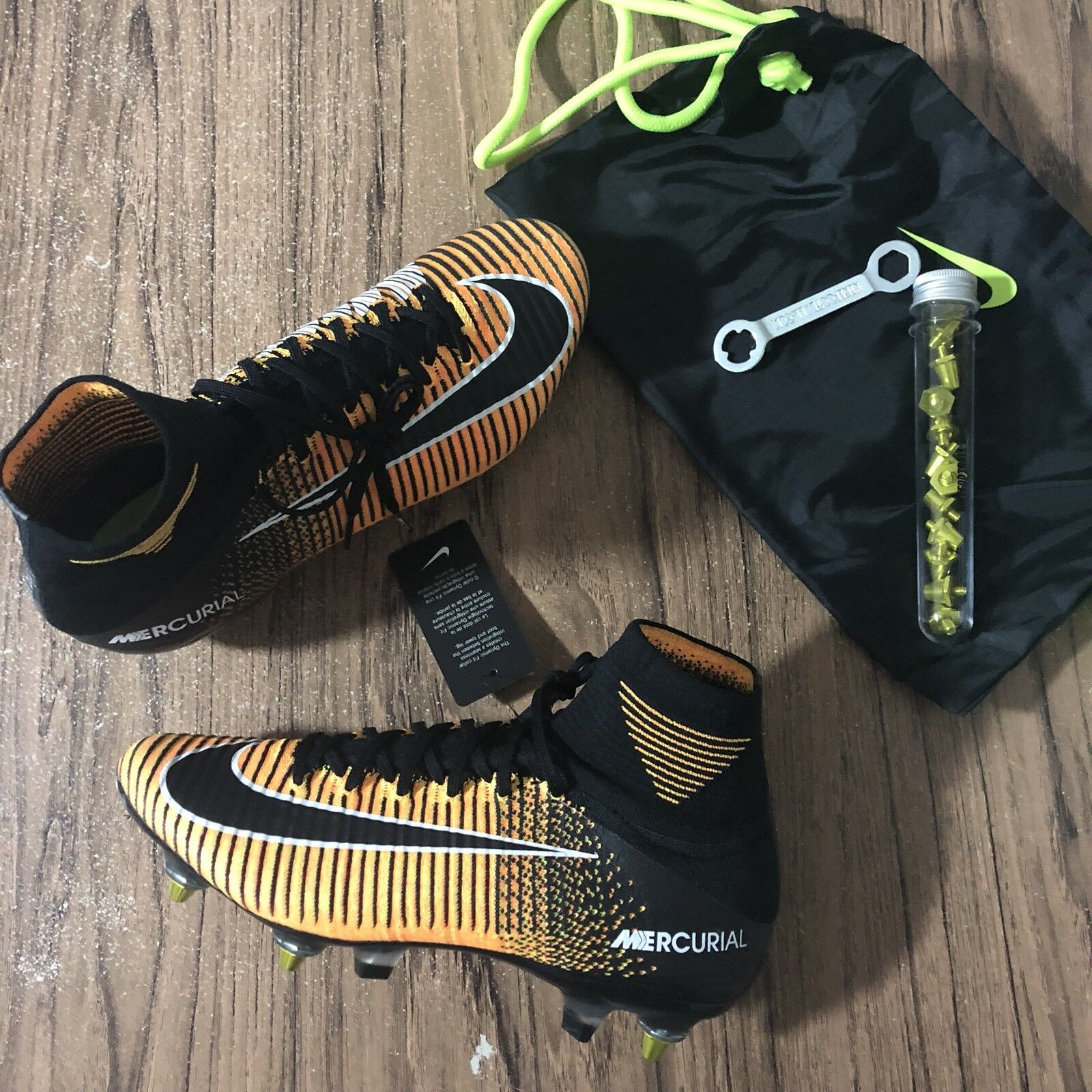 A659 Nike Mercurial SPFLY SG PRO AC Neymar 889286-802 Men's Cleats Comfortable