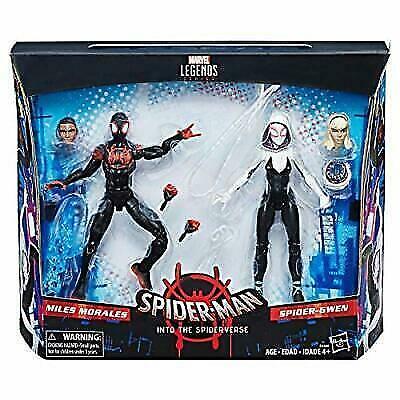 Marvel Legends Spider-Man millas Morales y Spider-GWEN Figura de Acción Envío Gratis