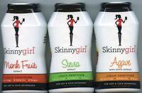 Skinnygirl Liquid Sweetener O Calories O Sugar Choose Agave Stevia Or Monk Fruit