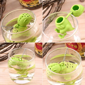 Dinosaur-Tea-Infuser-Loose-Leaf-Strainer-Herbal-Silicone-Filter-Diffuser-GD