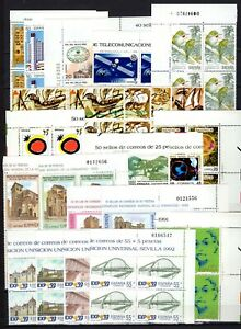 A135107-SPAIN-STAMPS-YEARS-1990-1991-MINT-MNH-MODERN-LOT-CV-102