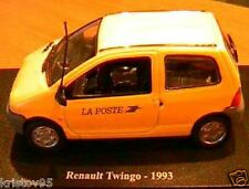 RENAULT TWINGO LA POSTE PTT 1993 NOREV 1/43 JAUNE NEW EDITIONS ATLAS JAUNE GELB