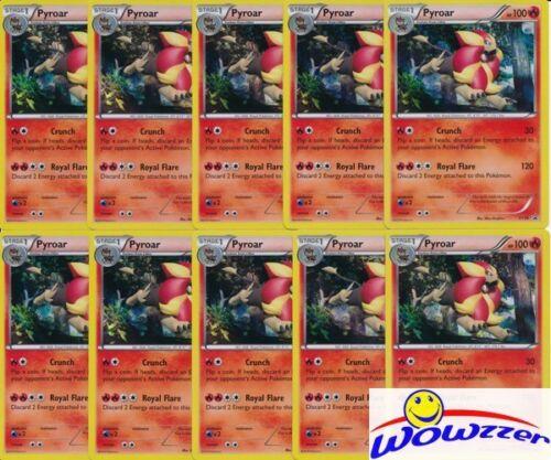 50x Pokemon TCG PYROAR XY26 Black Star Promo Hologram X /& Y From Collection Box!