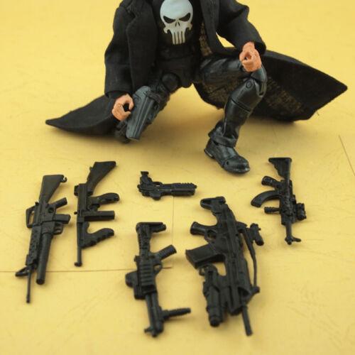 """6PCS /""""Arma Armi/"""" per MARVEL DEADPOOL /& Cyborg Ossa Incrociate Figure accessori"""