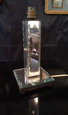 Lampe Art Déco année 30/40 en miroir!!!