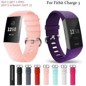 Fitbit-Charge-3-Handgelenk-Bander-Armbander-Beste-Ersatz-Zubehor-Uhr-Bander