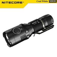 Nitecore MH20 - 1000LM XM-L2 LED USB Rechargeble Flashlight Torch 18650 +Holster