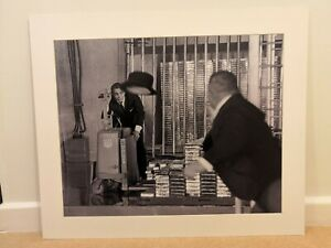 James-Bond-Goldfinger-Print-Oddjob-007-Sean-Connery-picture-Mounted