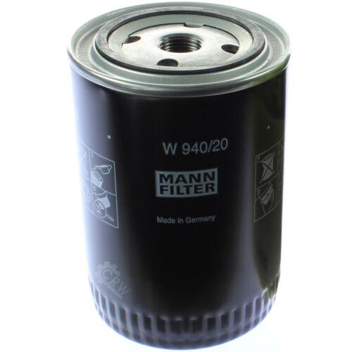 Original MANN-FILTER Ölfilter Oelfilter W 940//20 Oil Filter