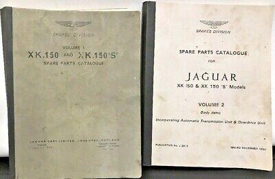 OE Jaguar Limited XK150 XK150S Spares Parts Catalogue