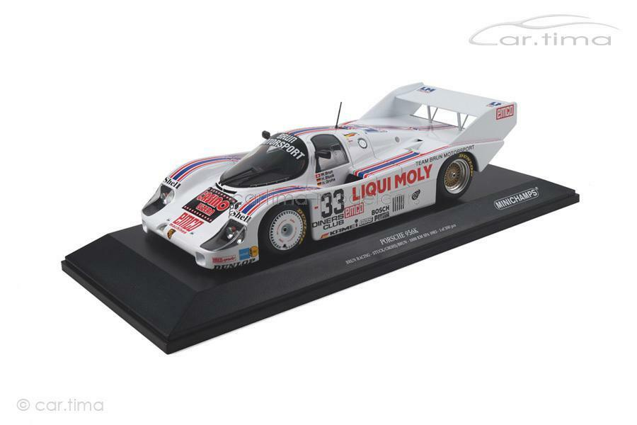 PORSCHE 956k-SPA 1983-Brun/Grohs/stucco - 1 of 300-MINICHAMPS - 1:18 -