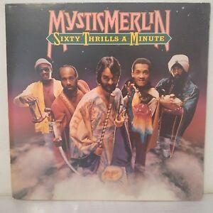 Mystic-Merlin-Sixty-Thrills-A-Minute-Vinyl-12-034-LP-Album-Gatefold