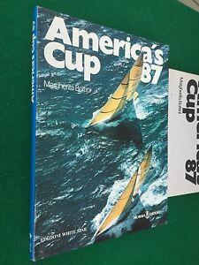 Margherita-BOTTINI-AMERICA-039-S-CUP-87-1-Ed-Mursia-White-star-1987