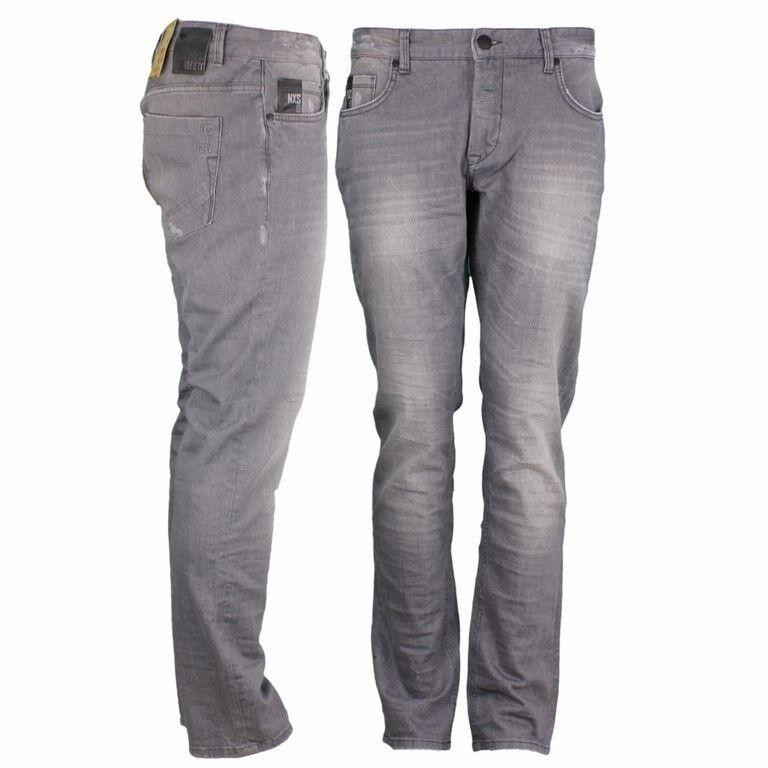 No Excess Jeans Hose Slim Fit grey 75711D15 220 Grey Denim