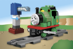 LEGO 5556 - Duplo, Thomas & Friends - Percy at at at the Water Tower - 2005 - NO BOX 46f1b1