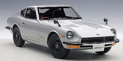 Autoart 1969 Nissan Fairlady Z432 Silver In 118 Scale New Release In Stock Ebay