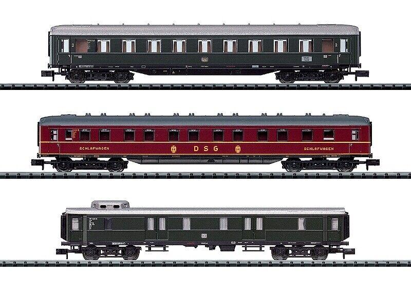 designer online Minitrix Spur N-Vagoni treno rapido-Set grembiuli autorello autorello autorello PROD - 15729 7 CC 927  vendita economica