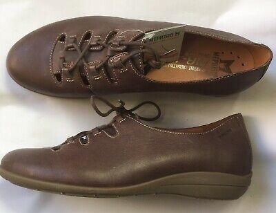Abile Chaussures Lacées Méphisto Neuves Marron 38