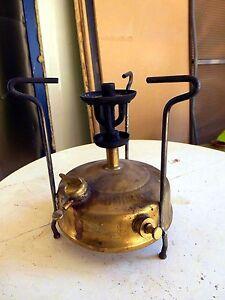 antiker brenner kocher h 21 5 cm mit marke primus n 5 messing sehr dekorativ ebay. Black Bedroom Furniture Sets. Home Design Ideas