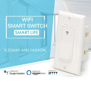 Smart Electric Switch 110-220v Remote Control Wifi Light For Alexa