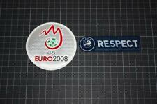UEFA EURO CHAMPIONS 2008 and RESPECT BADGES / PATCHES