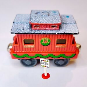 Thomas & Friends Diecast Metal Take Along Christmas Winter Caboose 2002