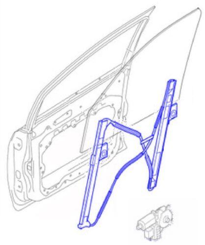 Fenêtre Régulateur Lifter Avant N//S Seat Arosa 97-04 VW Lupo 99-05 Inc c//fonction