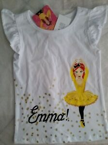 The Wiggles Emma Dorothy Girls T Shirt New with Tags various sizes