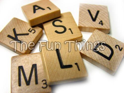 Genuine Scrabble Tiles for DIY Crafts Pendants Scrapbooks Frames Locker Magnets