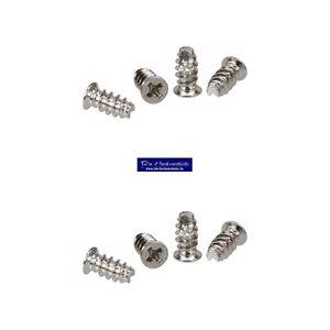 8-Stueck-5-x-10-mm-Schraubenkit-fuer-Systemluefter-Gehaeuseluefterschauben-silber