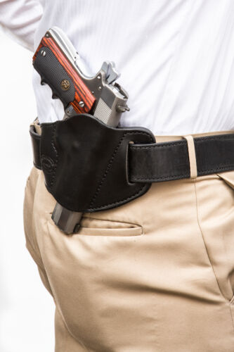 """Pro Carry 7 Leather Gun Holster LH RH For CHARLES DALY 1911 3.5/"""""""