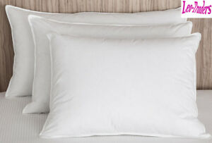 Duck Feather /& Down Pillows Hotel Quality Extra Filled  Luxury 100/% All UK Stock