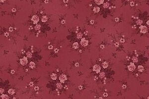 Cottage-Shabby-Chic-Quilt-Gate-RURU-Bouquet-TOT-Fabric-RU2200Y-20E-Rosette-BTY