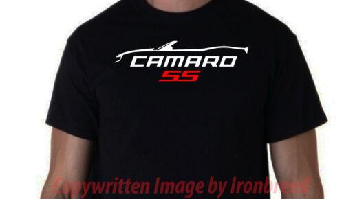 Camaro Convertible 5th GEN RS SS T-Shirt Voiture 2010 2011 2012 2013 2014 2015