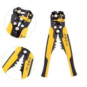 Pro-Automatic-Cable-Wire-Striper-Cutter-Stripper-Crimper-Pliers-Terminal-Tool