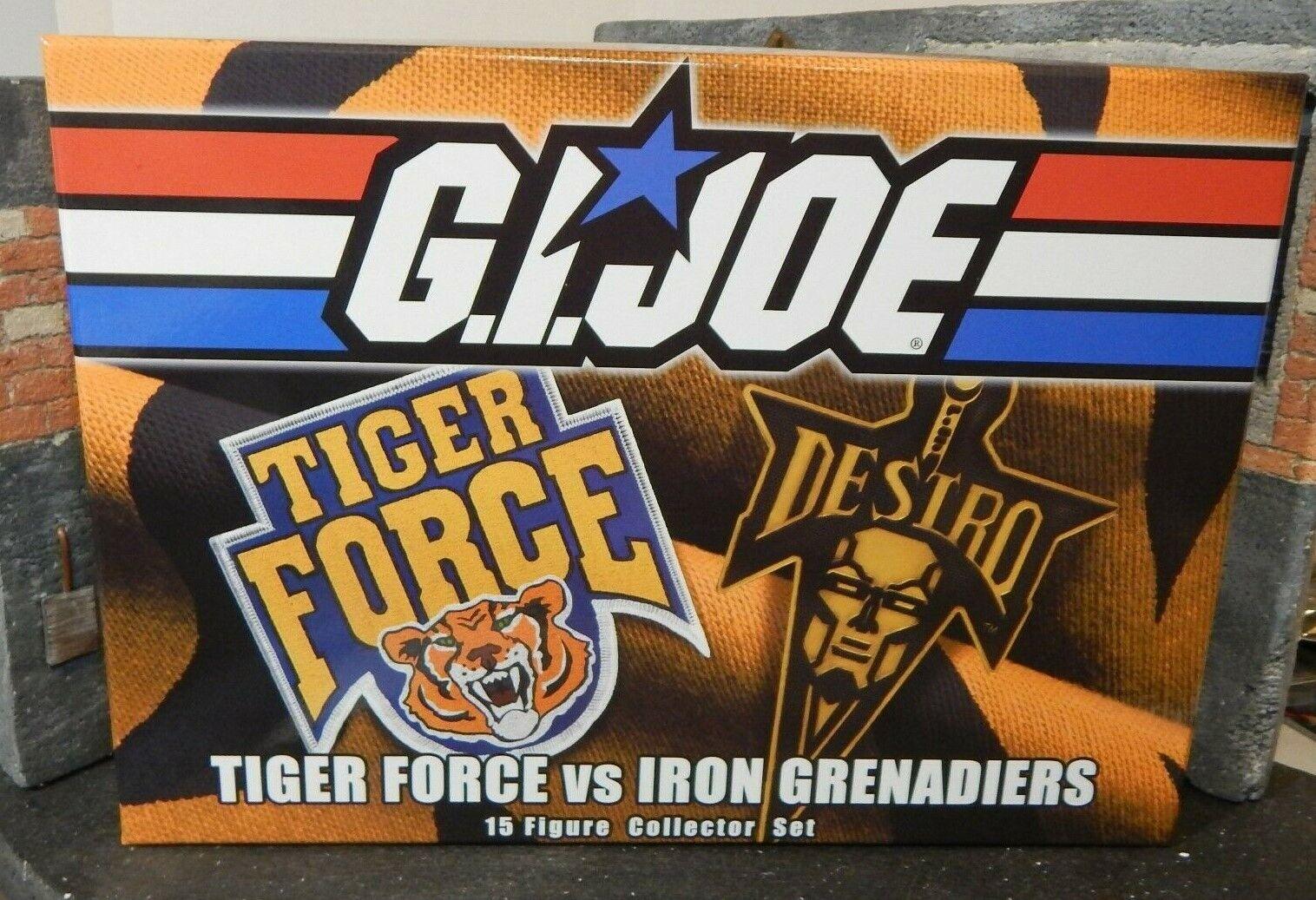 Gi Joe  2015 convención Caja  Tiger Force vs Hierro Granaderos  Joecon