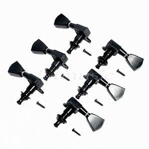 Black Tuning Pegs Tuners Machine Heads tuners 3R3L  high quality guitar parts