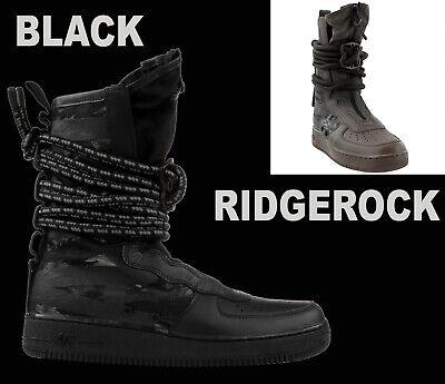 Da Uomo NIKE AIR FORCE 1 AF1 Hi Stivali SF Esercito Mimetica Sneaker riflettente AA1128 8,12 | eBay