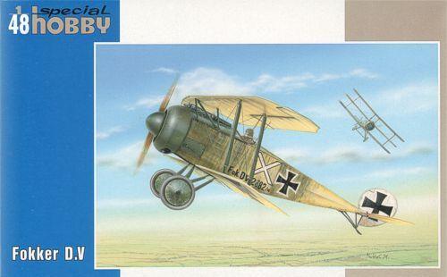 särskild hobby 1  48 Fokker D. V