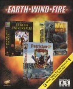 EARTH-WIND-FIRE-Patrician-II-Europa-Universalis-WWII-Online-Blitzkrieg-NIB