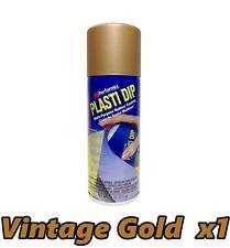 Performix Plasti Dip Metallic Vintage Gold 1 Pack Rubber Spray 11oz Can Single