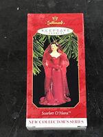 Hallmark Keepsake Ornament Scarlett Ohara 1997 Gwtw velvet Melanie Party Dress