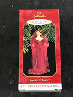 Hallmark Keepsake Ornament Scarlett Ohara 1997 Gwtw velvet Melanie Party Dress
