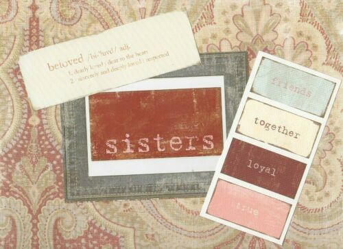 WILD ASPARAGUS SCRAPBOOK SETS FROM MY MINDS EYE ~ SISTERS