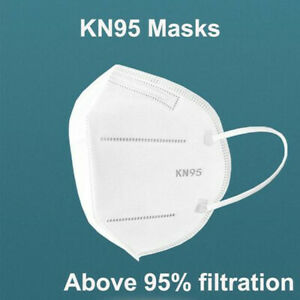 5-Layer KN95 Disposable Face mask Protection Respirator Masks K N95